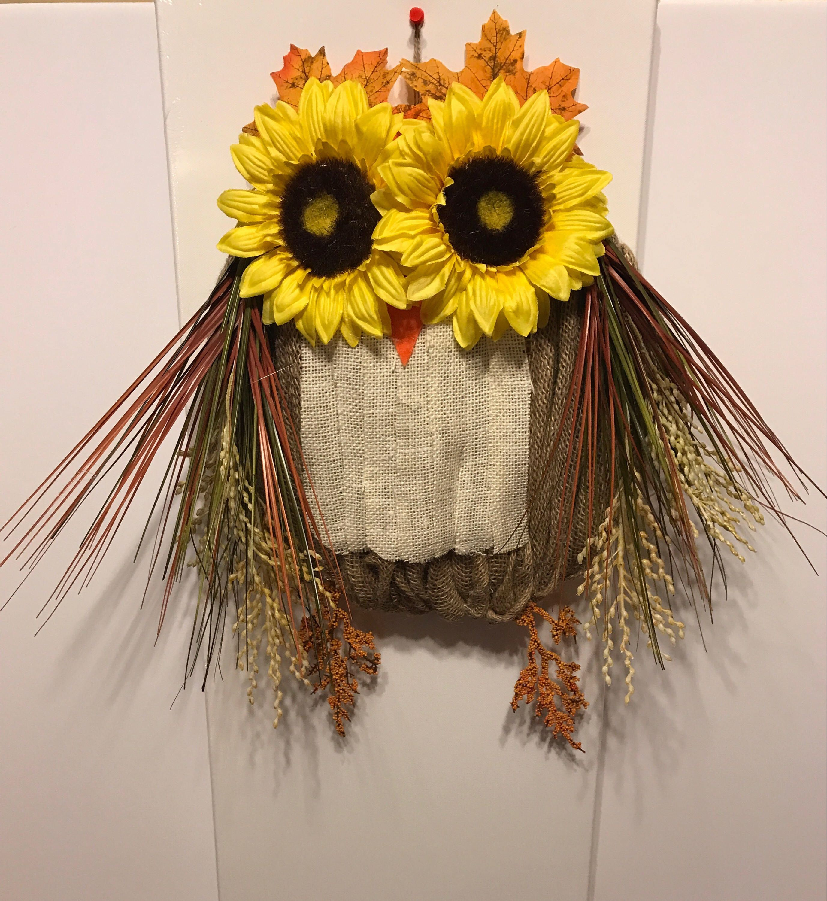 A Personal Favorite From My Etsy Shop Httpswwwetsycomlisting527963970Owl Wreath