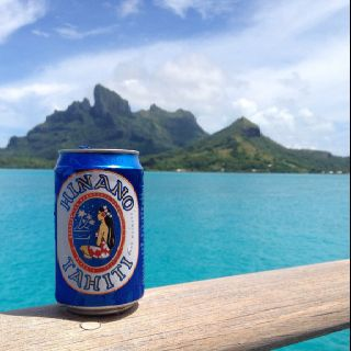 French Polynesia - Hinano Beer