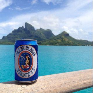 French Polynesia - Hinano Beer