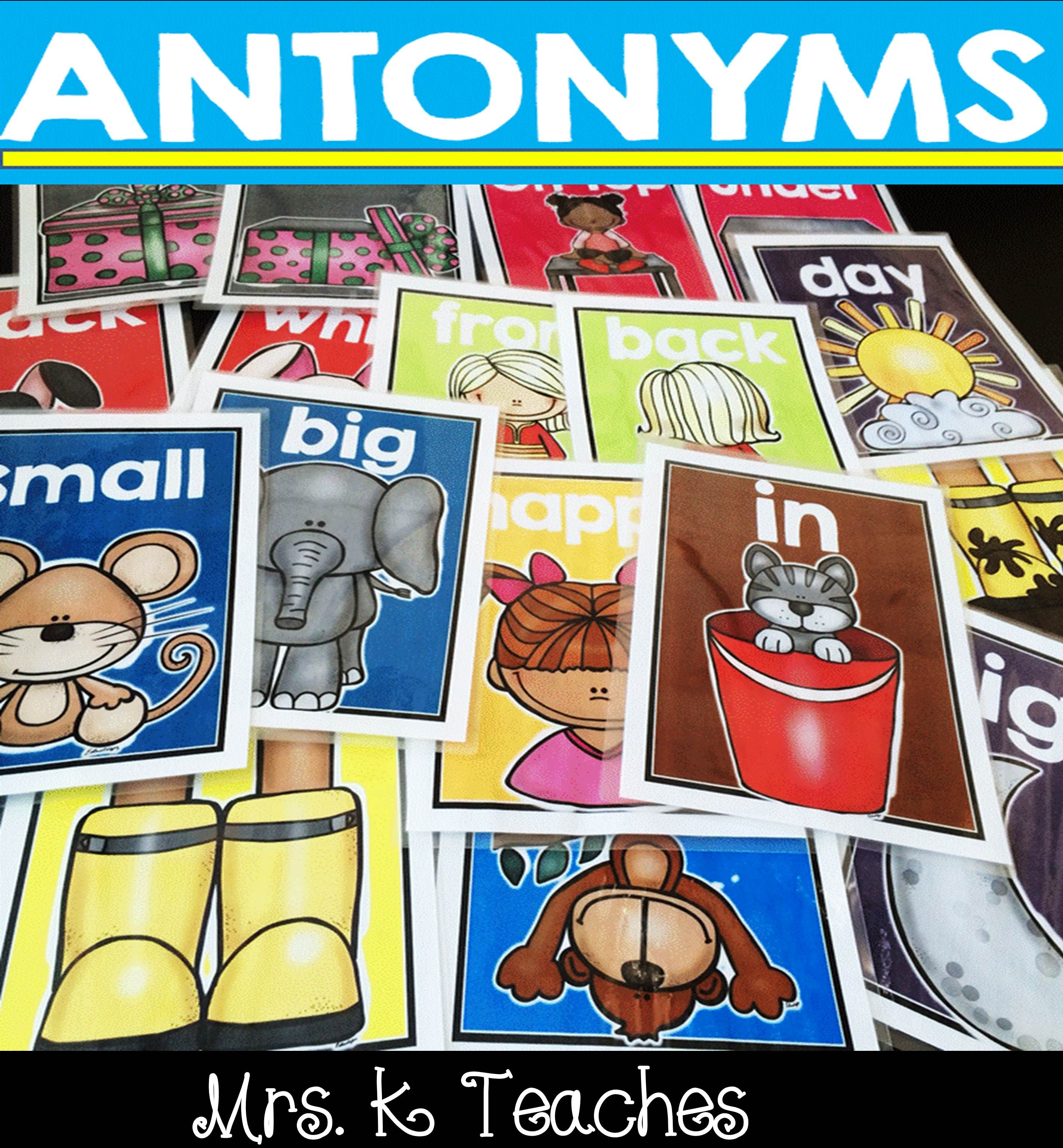 Antonym Poster Bundle