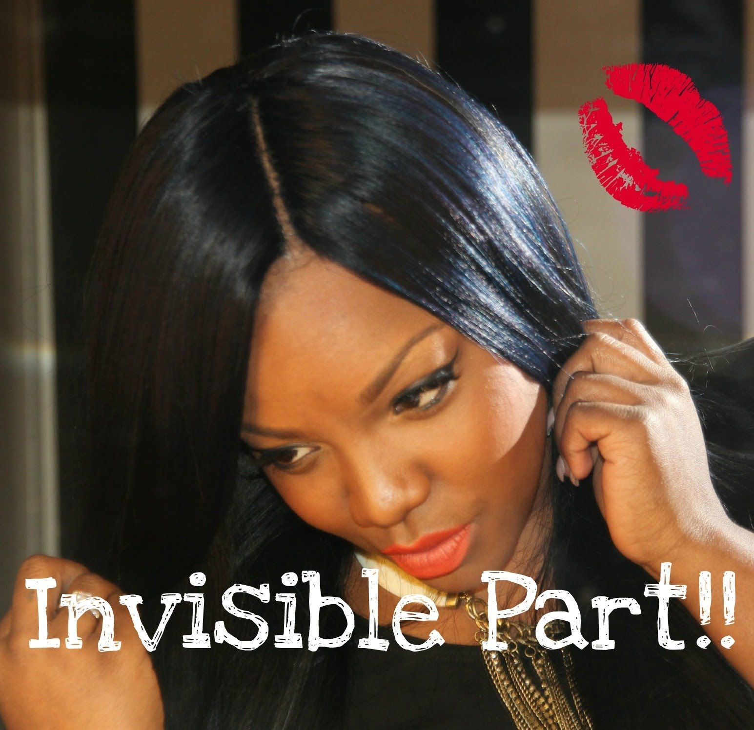 Hairstyles Without Weave How To Flawless Invisible Part Diy Pinterest Instagram