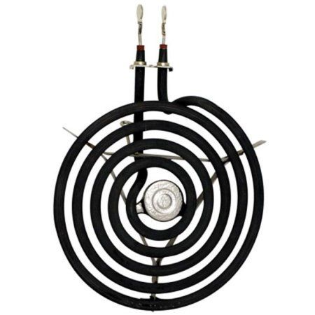 Range Kleen 1 Small Burner Element, 5 Turns, Style B, Fits Plug-In Electric Ranges GE, Hotpoint, Kenmore, RCA, Multicolor