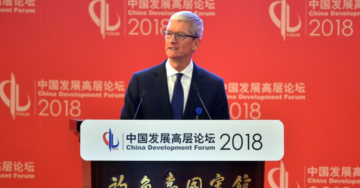 Apple's success in China means it has to censor apps