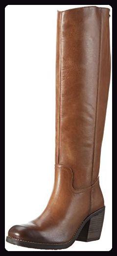 Damen V77311 Langschaft Stiefel, Braun (Cognac 644), 38 EU Bugatti