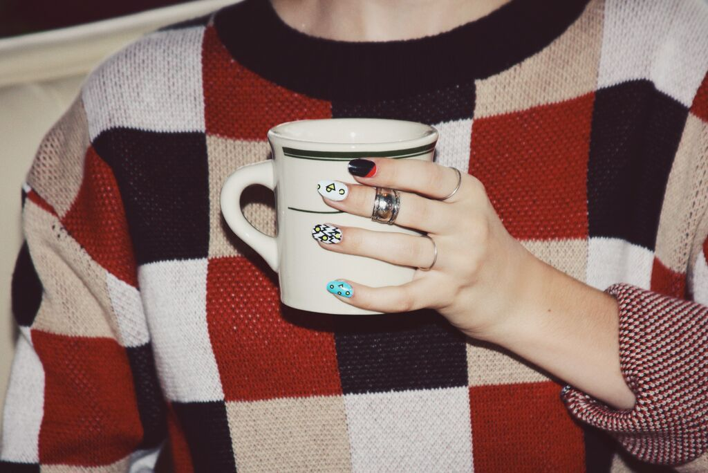 Coffee & Make Me Nail wraps!!! <3 | Make Me Nails with G Hannelius ...