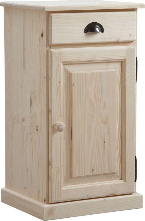 confiturier en bois brut 1 tiroir 1 porte confiturier bois brut et meuble tag re. Black Bedroom Furniture Sets. Home Design Ideas