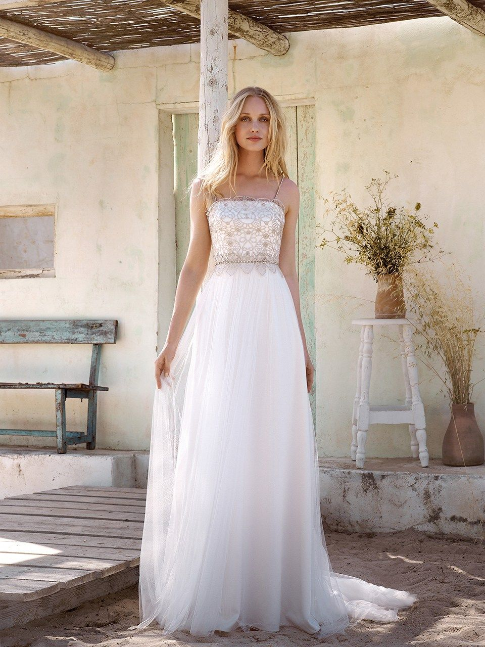 Rembo Styling - bohemian, elegant and fashion forward wedding gowns, visit rembo-styling.com.
