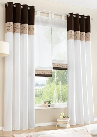 cortinas-para-sala (13 Cortinas decorativas, Cortinas y Hogar - cortinas para ventanas