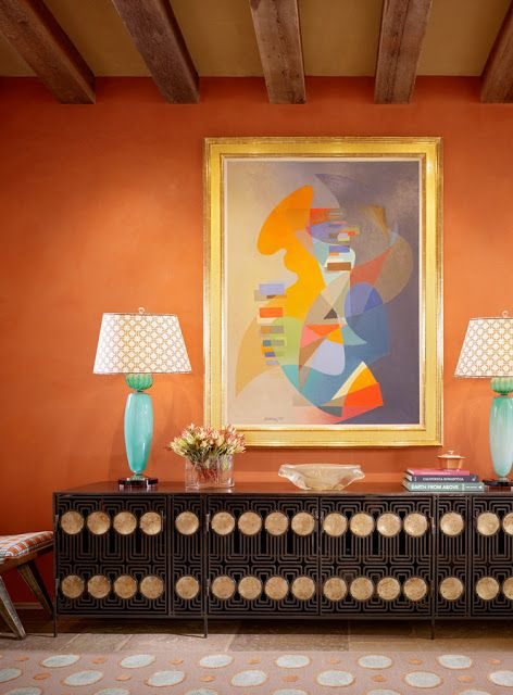 The Pink Pagoda: Tangerine with the Jeffers Design Group