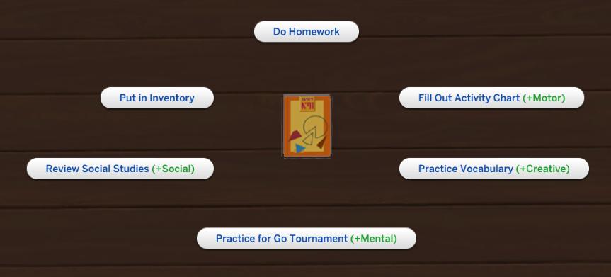Do u copy homework sims 3