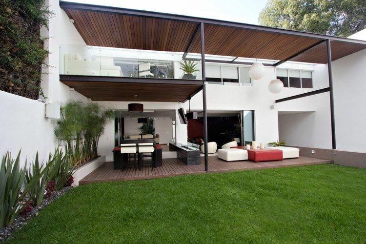 Pergola Terrasse: 48 Idées Pour Une Déco Extérieure Moderne. Pergola  Terrasse Design Contemporain