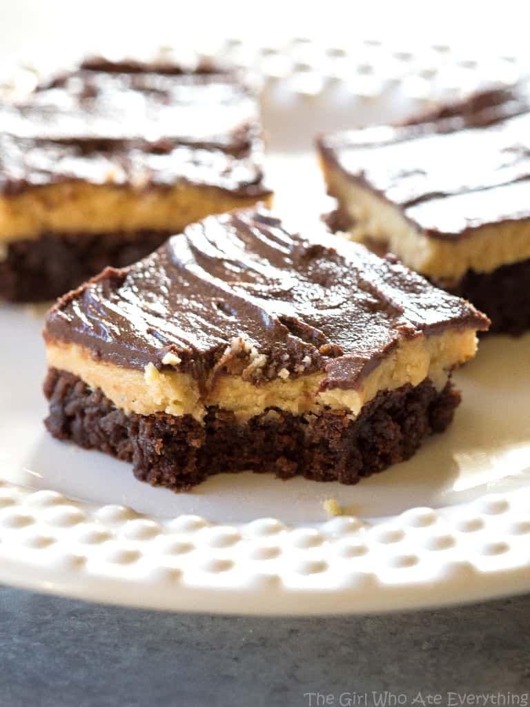 Buckeye Brownies Recipe Peanut Butter Truffles Brownie