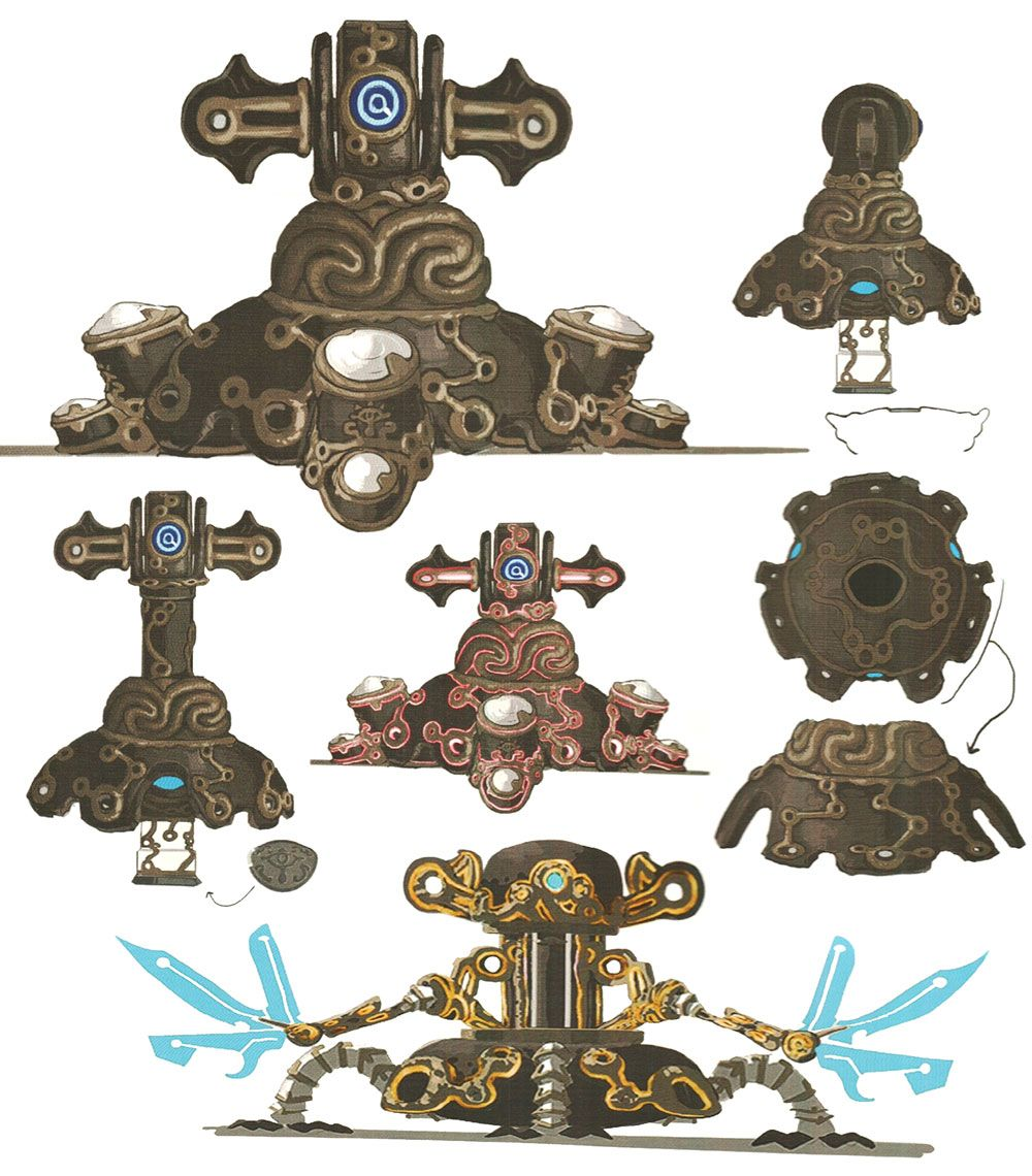Guardian Turret From The Legend Of Zelda Breath Of The Wild