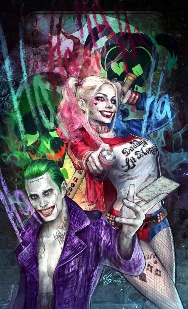 Harley Quinn Et Le Joker : harley, quinn, joker