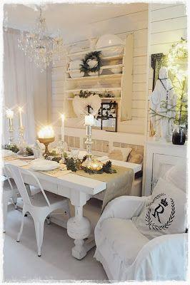 Tisch ist gedeckt, essen vorbereitet, bald kann Heiligabend beginnen ;-))