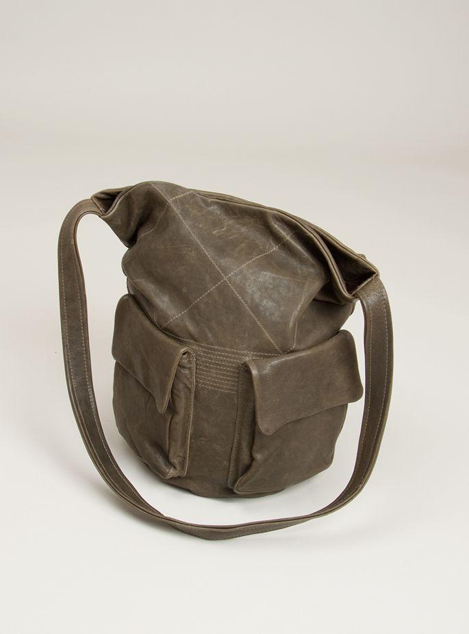 Alex super soft lambskin bucket bag by Ally Capellino