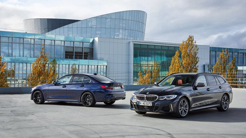 2020 Bmw M340i Xdrive Touring Joins Its Sedan Sibling But Not Here Bmw Touring Sedan