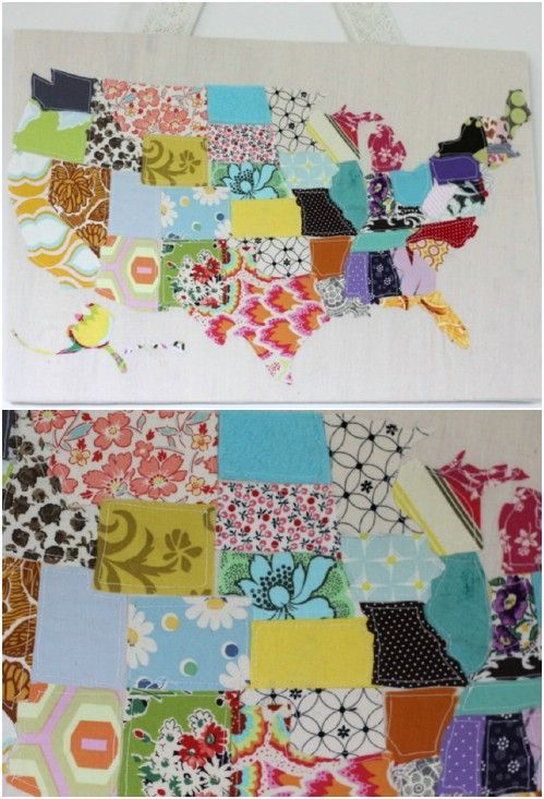 100 Brilliant Projects to Upcycle Leftover Fabric Scraps #scrapfabric