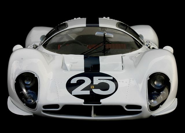 1967 NART Ferrari 412 P Le Mans Practice