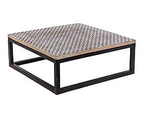 Tavolino metallo ~ Tavolino in legno e metallo norway cm arredi rustici