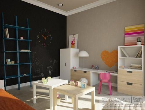 Muebles de Ikea en la habitación infantil Habitación infantil - diseo de habitaciones para nios
