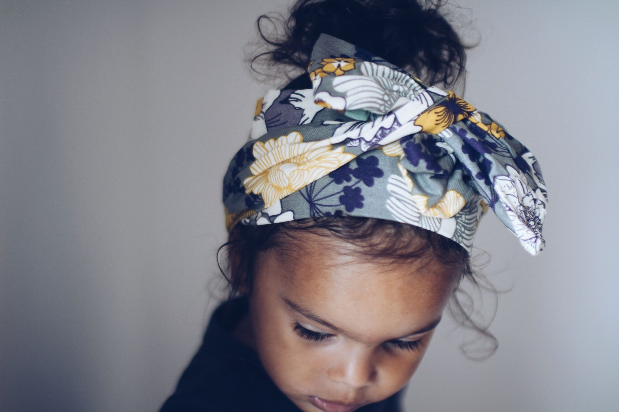 Floral Headwrap for Baby Girl