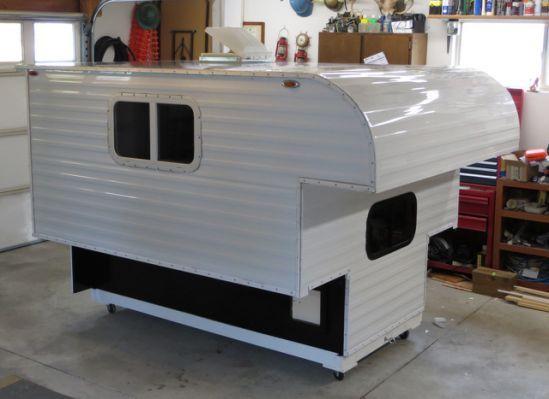 Homemade Pickup Camper Plans Pickup Camper Homemade Camper
