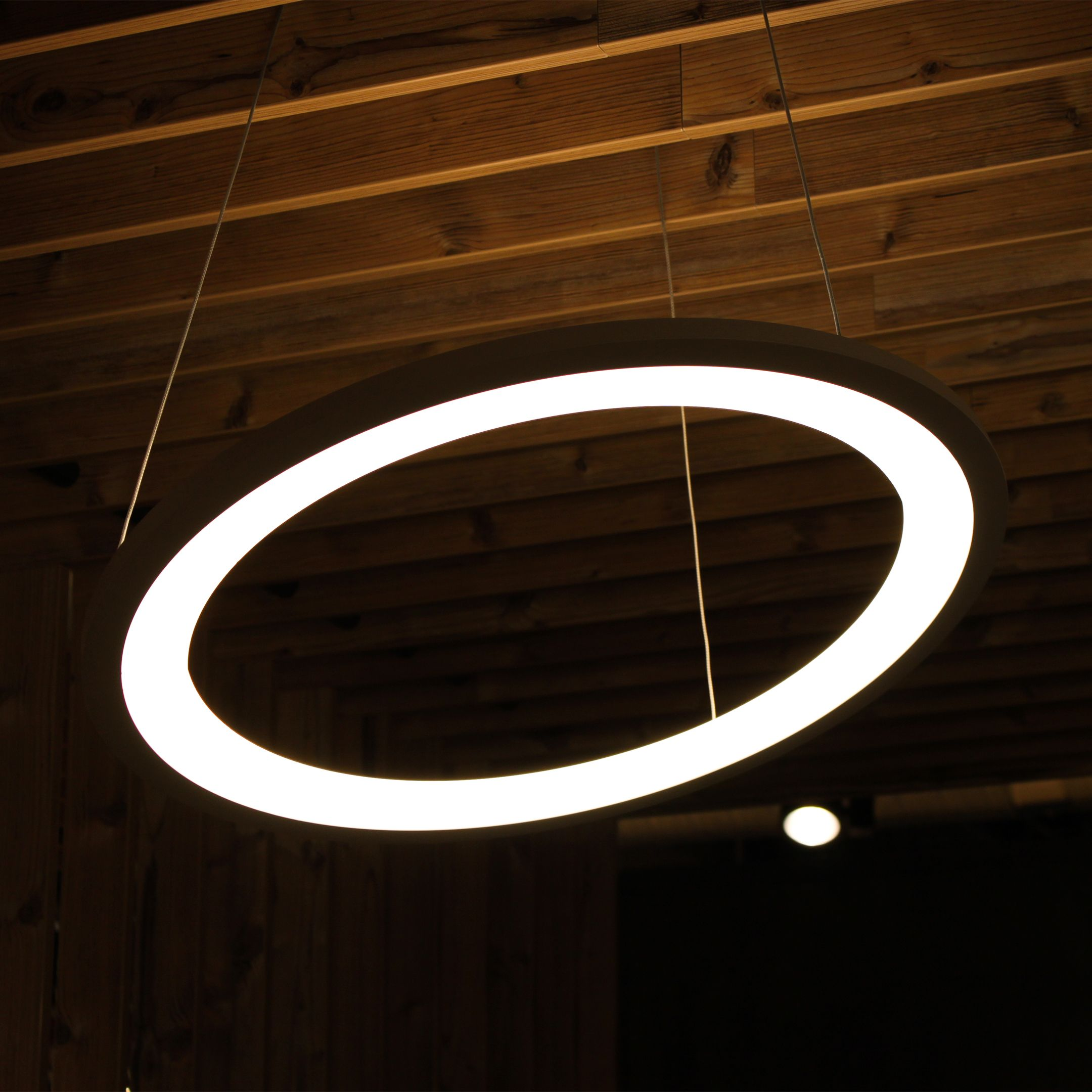 Stylish Led Ring For Shop Lighting Ladenbeleuchtung Ladeneinrichtung Licht