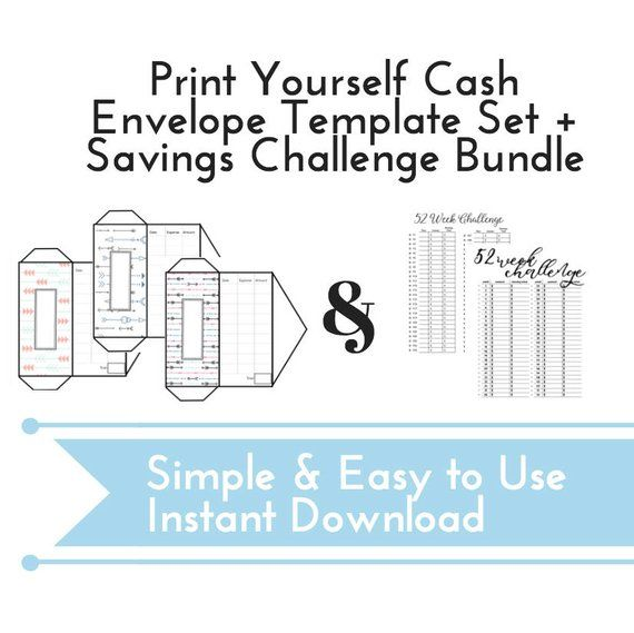 INSTANT DOWNLOAD cash envelope system, Budget Envelopes, Dave Ramsey
