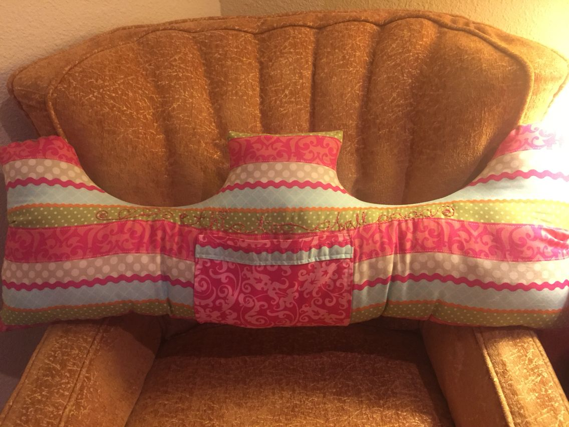 Sewed this Post Op Double Mastectomy Pillow for a friend