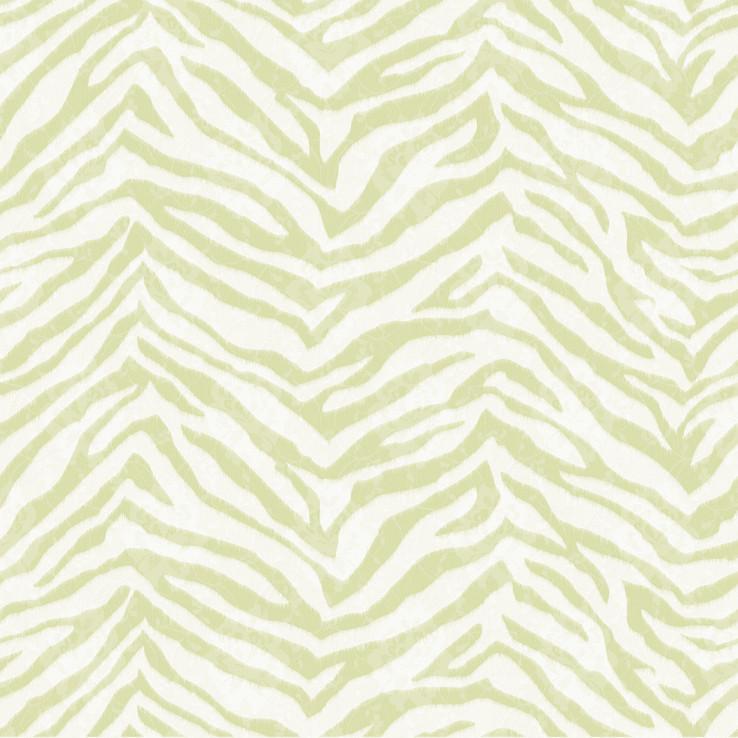 Mia Green Faux Zebra Stripes Wallpaper Wallpaper In 2019