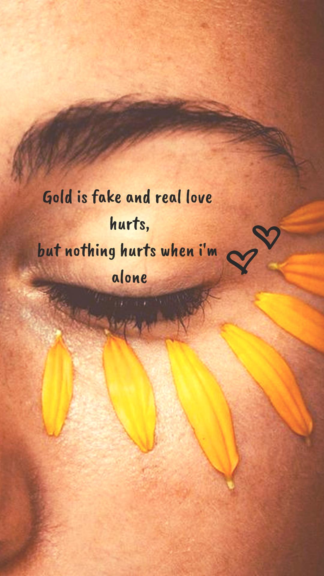 Billie Eilish Aesthetic Yellow Love Quote Wallpaper Iphone