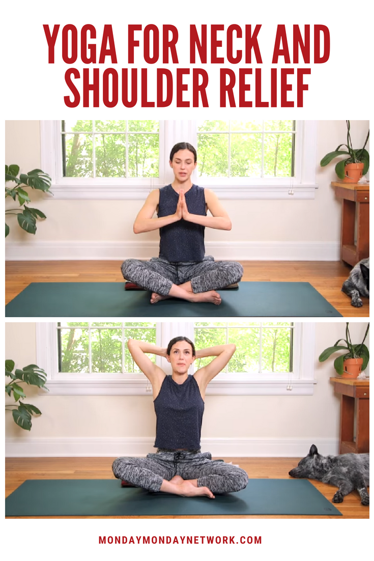 Yoga for Neck and Shoulder Relief - Yoga With Adriene | Gym