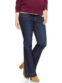 87b9723a8ddb8 1969 full panel maternity long and lean jeans | Gap. Size 16 long ...