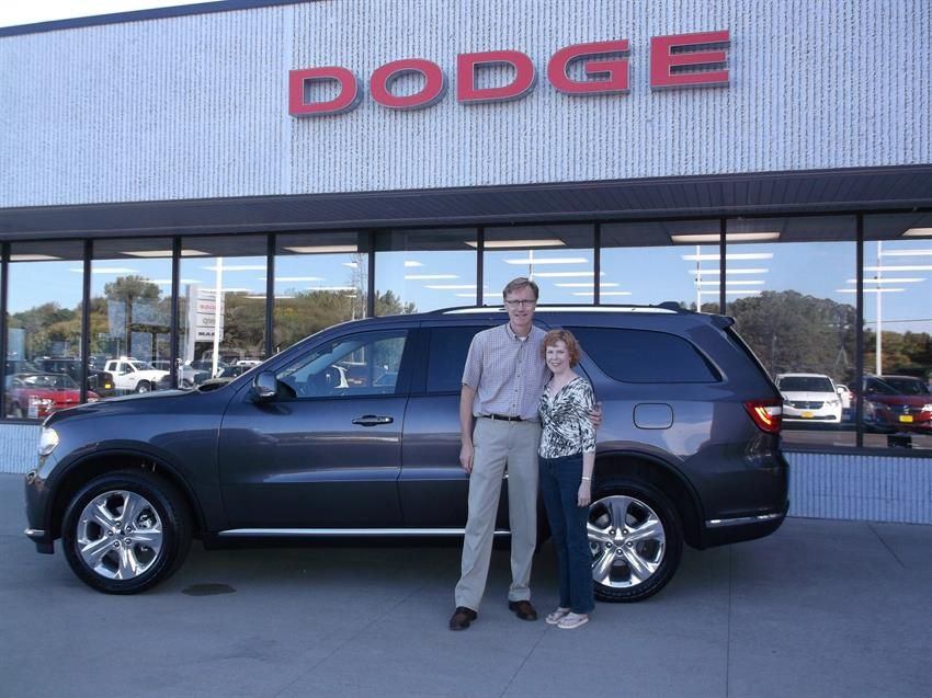SUZANNE and JOSEPH's new 2015 DODGE DURANGO! Congratulations and best wishes from McKay's Chrysler Dodge Jeep Ram and Maria Jensen.