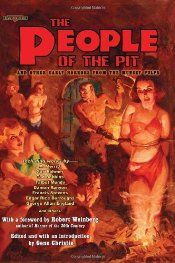 oddly weird fiction: brain break: The People of the Pit and Other Early...