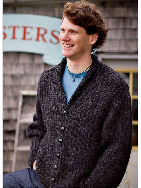 Charcoal Ribbed Cardigan Knitting Pattern Download Crafting