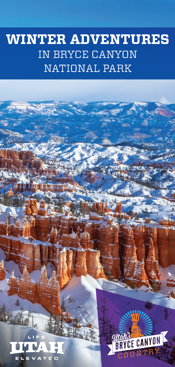 Winter Adventures in Bryce Canyon National Park The Bryce Canyon National Park Area has many winter activities perfect for any adventureseeker