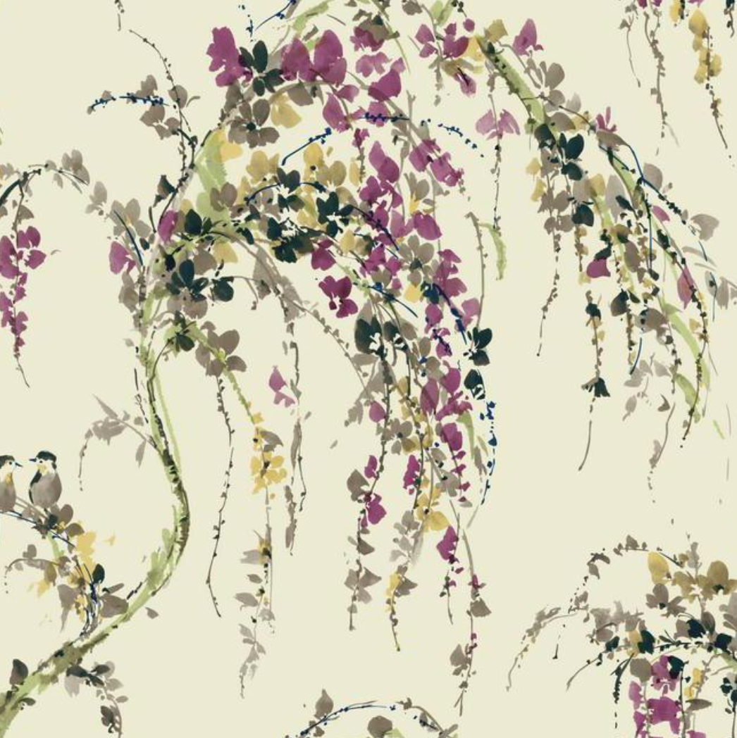 Love Birds Wallpaper Watercolor wallpaper, Botanical