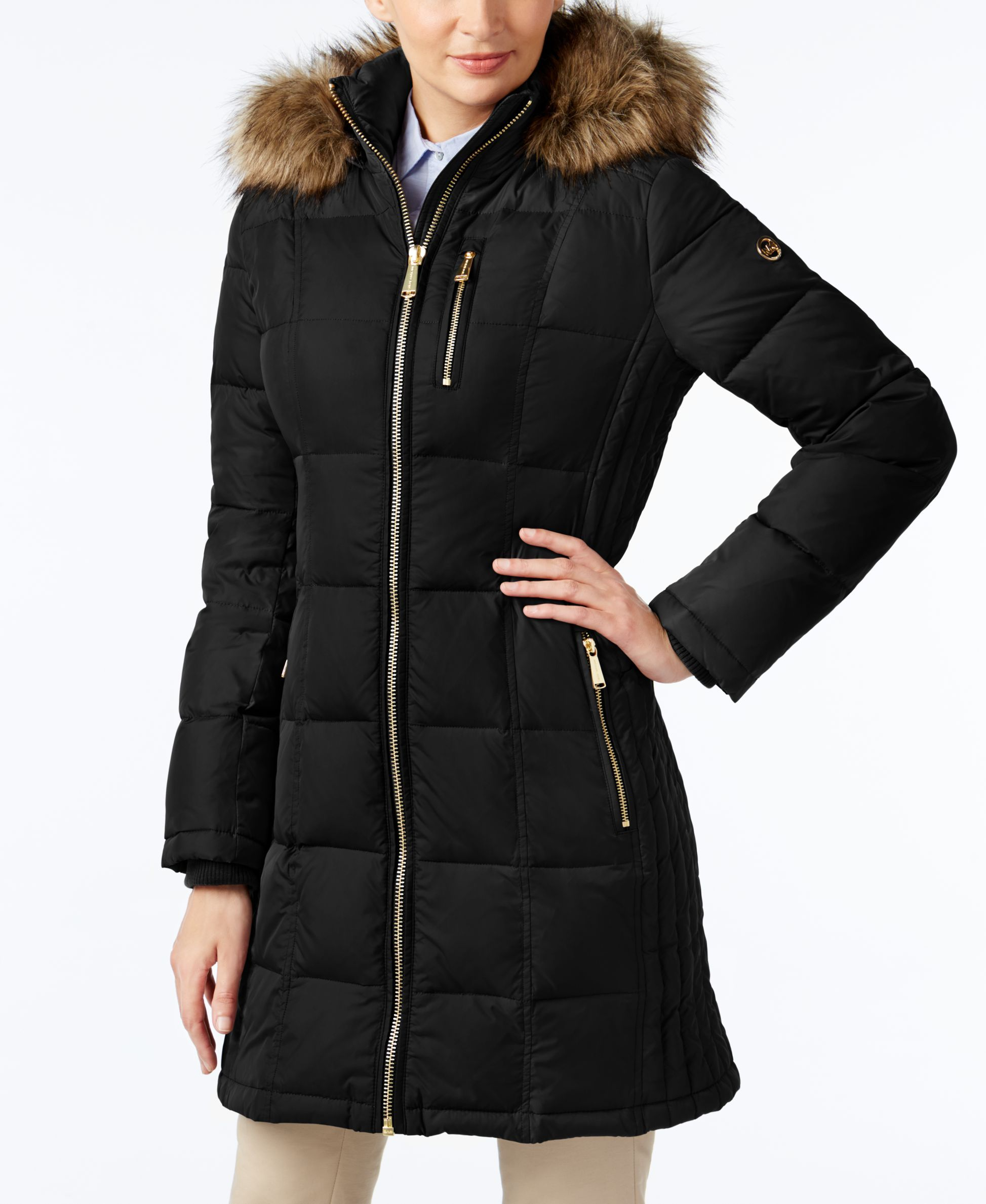 0fe348fd9f29 Warmth and comfort come together in this puffer coat from Michael Michael  Kors