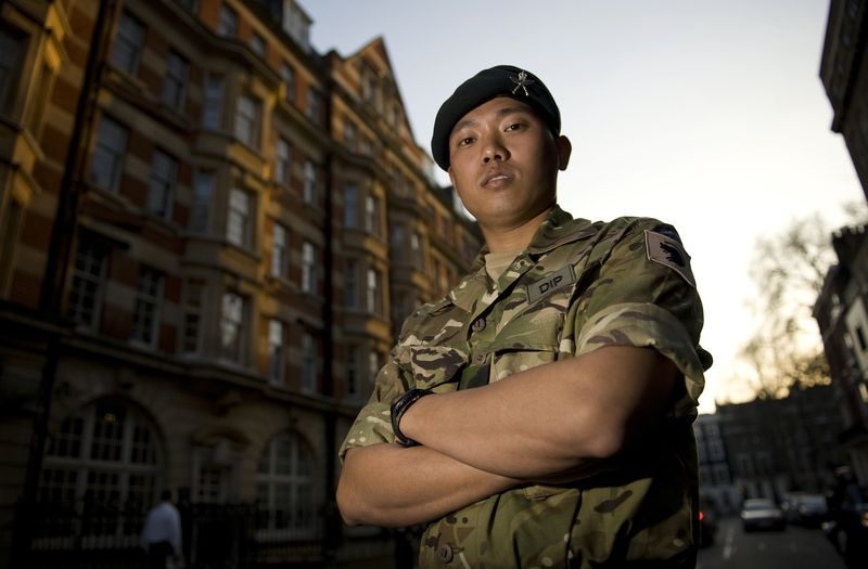 Dipprasad Pun was awarded the Conspicuous Gallantry Cross for his bravery during the Afghan War