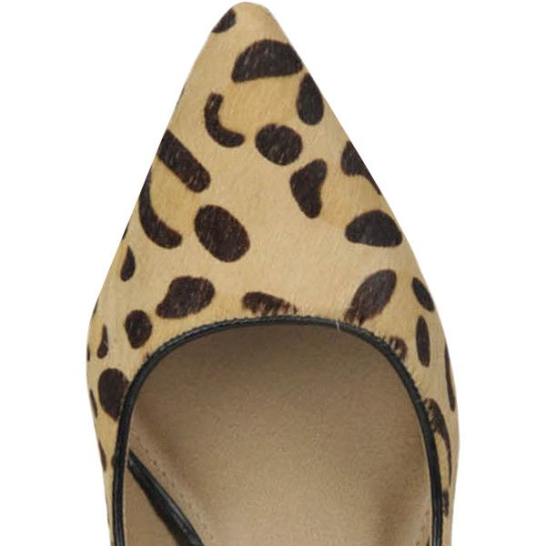 Steve Madden Animal Print Haircalf Pumps (175.160 COP) ❤ liked on Polyvore featuring shoes, pumps, steve madden shoes, pointy-toe pumps, animal print pumps, steve madden and mid-heel pumps