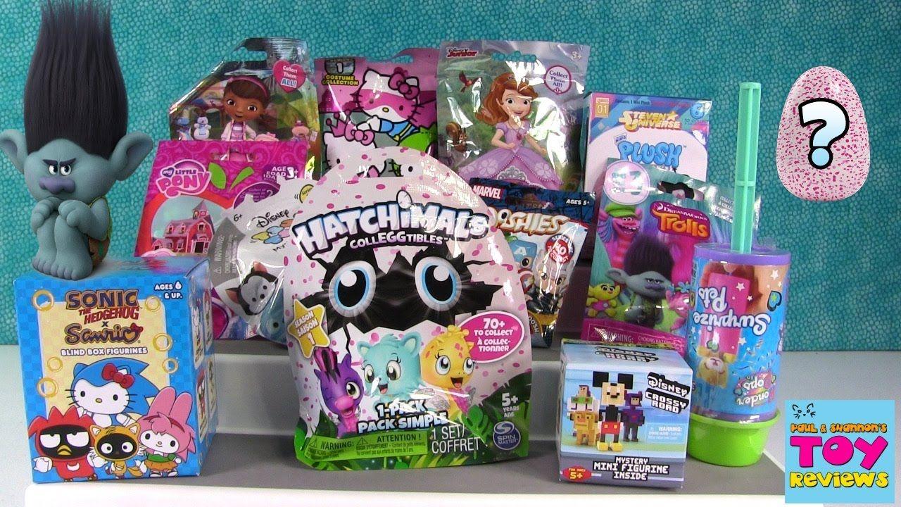 Trolls Wonder Pops Hatchimals Colleggtibles Disney Tsum