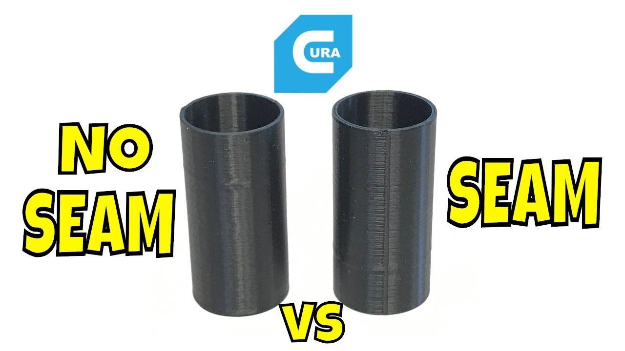 How To Control Seams In Cura Slicer Settings 3d Printing Diy 3d Printing 3d Printer