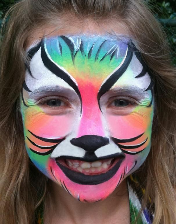 easy animal face painting easy animal face paint for