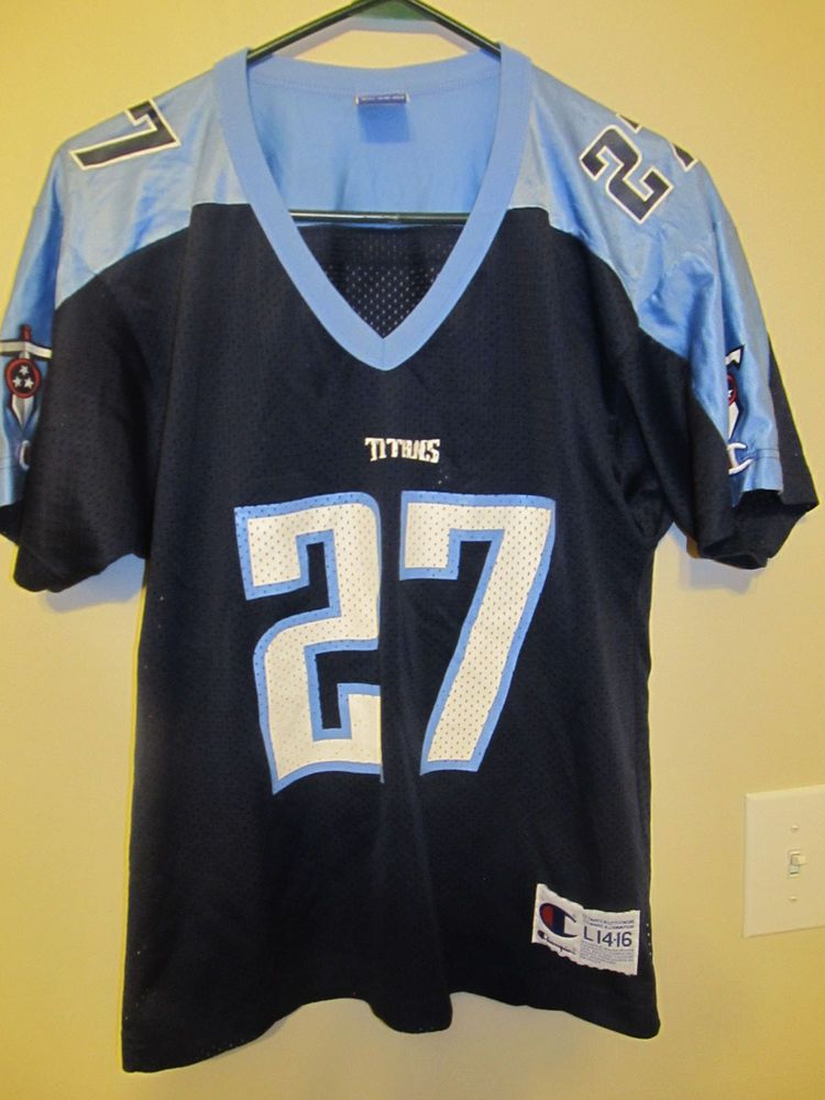New Eddie George Tennessee Titans Jersey Champion youth Large  for cheap