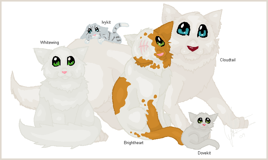 Warrior Cats Cloudfoot