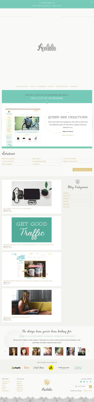 The website 'http://aeolidia.com/' courtesy of @Pinstamatic (http://pinstamatic.com)