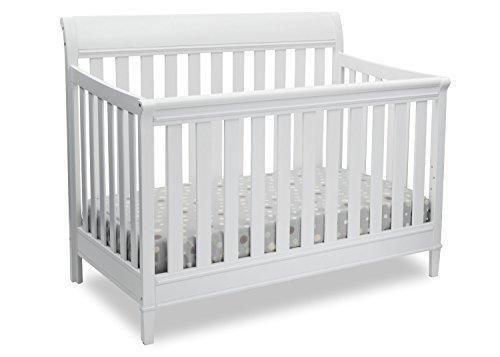 Delta Children Haven 4-in-1 Convertible Crib White