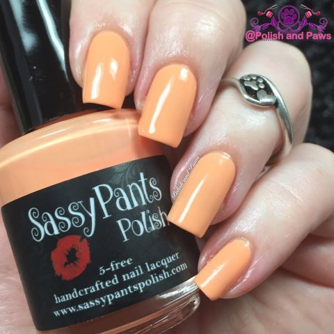Sassy Pants Polish Orange Sherbert ~ Ice Cream Social Collection